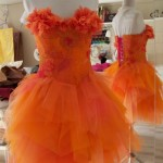 Robe de mariée Orpiment Magenta