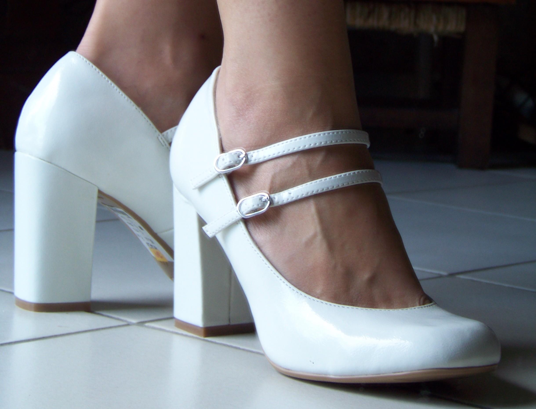 Talon Carole À Carré De Robes CellierCréatrice Mariée Chaussures byv76gYf