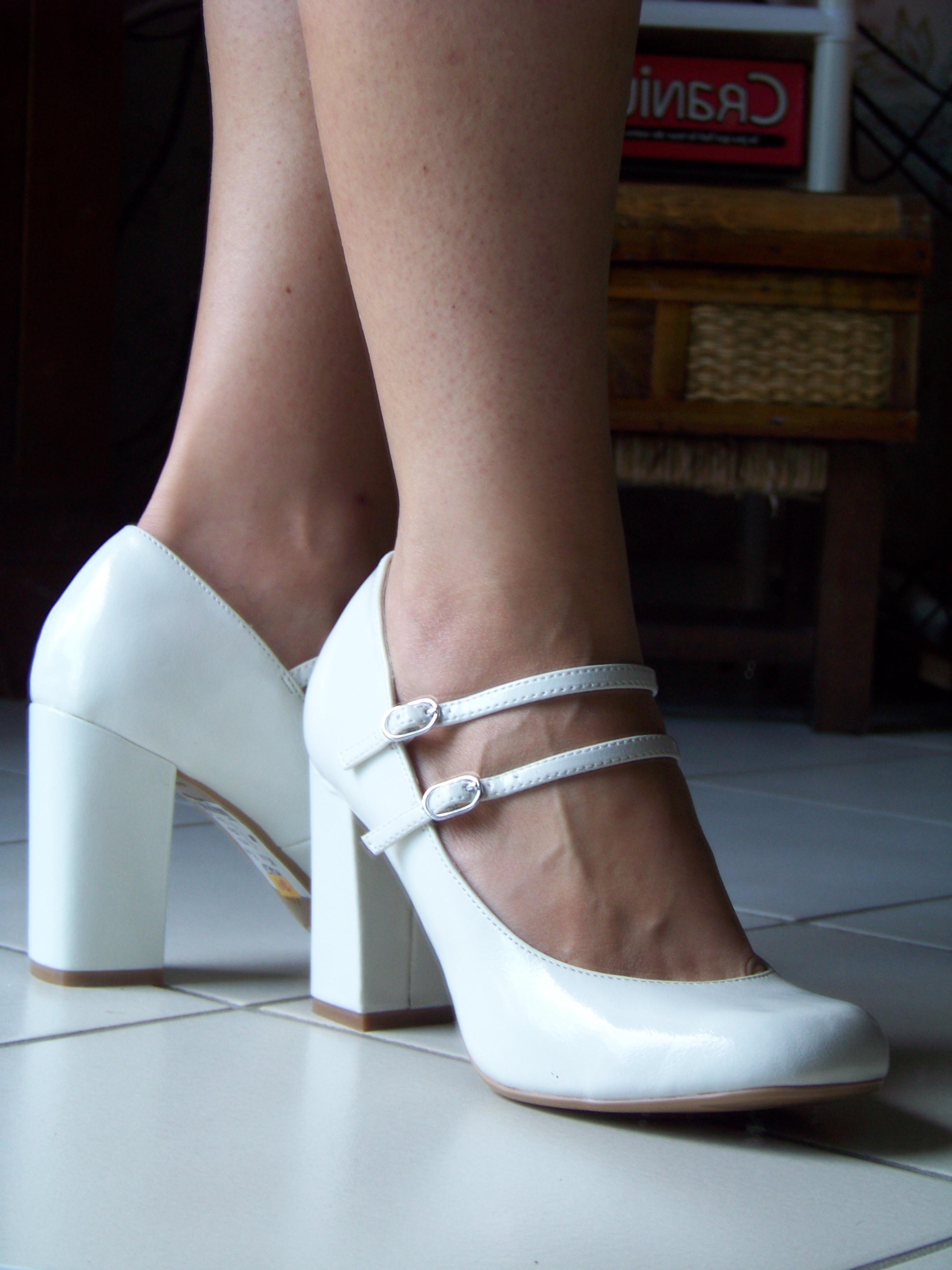 Chaussure A Talon Blanc Pour Mariage