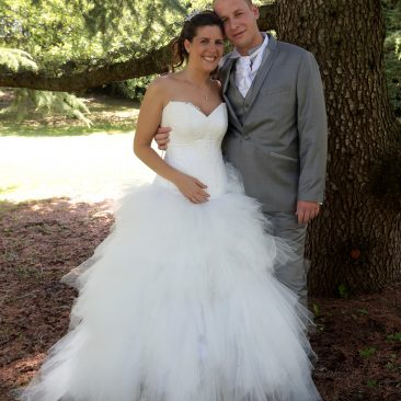 Robe de mariée Blanc de Céruse