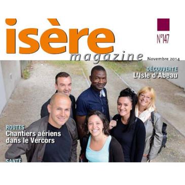 Dans le magazine du conseil général de l'Isère