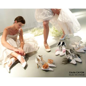 Belle jusqu'au bout des pieds ? Personnalisez vos chaussures de mariée.