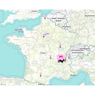 Des mariées dans toute la France